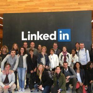 Linkedin visite Silicon Valley